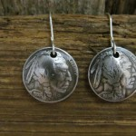 Earrings_made_from_Genuine_Indian_Head_Nickels_with_Sterling_Silver_Ear_Wires