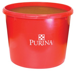 Purina Cattle Feeds, tubs