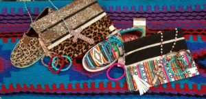 Serape and Leopard Patterned Purse