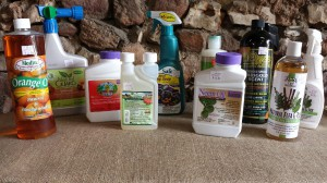 organic gardening products