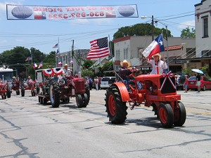Fourth of July Parade in Fredericksburg, TX