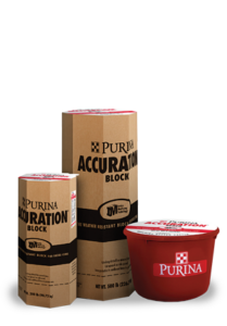 Purina Accuration Hi-Fat Block