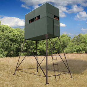 Texas Hunter 4'X8' Trophy Deer Blind With 8' Tower