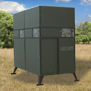 TEXAS HUNTER 4'X8' TROPHY DEER BLIND WITH GROUND LEGS