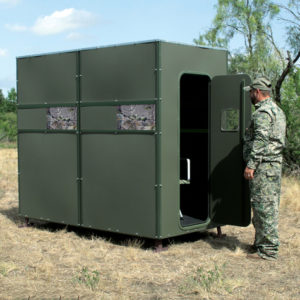 TEXAS HUNTER 4'X8' XTREME DEER BLIND WITH GROUND LEGS