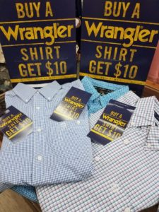 Wrangler Shirt Savings