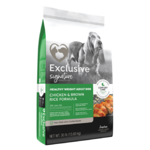 Exclusive Healthy Weight Dry Dog Food