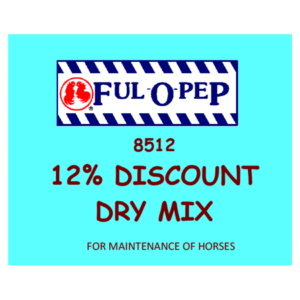 Ful 'O Pep 12% Discount Dry Mix Horse Feed