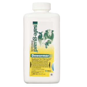 Safe-Guard Dewormer Suspension for Beef, Dairy Cattle and Goats