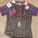 layout of shirt, jewelry and more